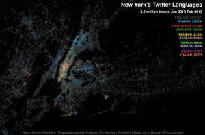 NYC tweet languages